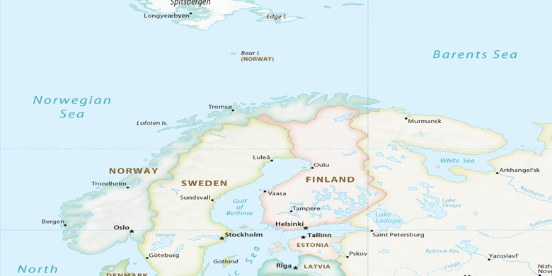 Tromso Na Mapie