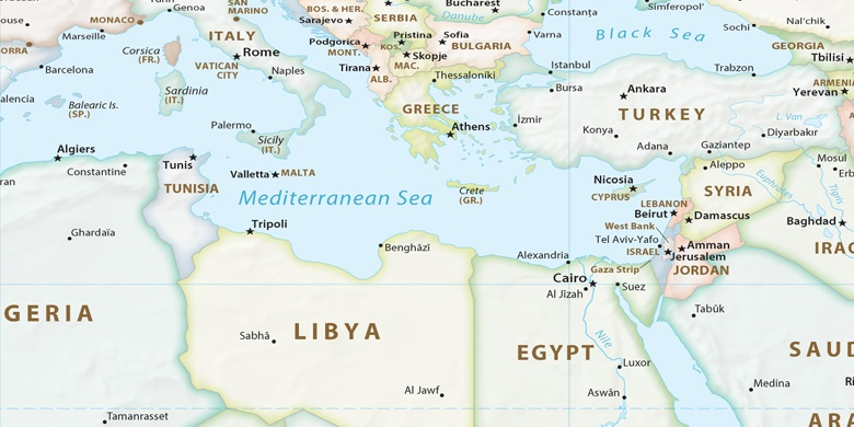 Bengazi Na Mapie