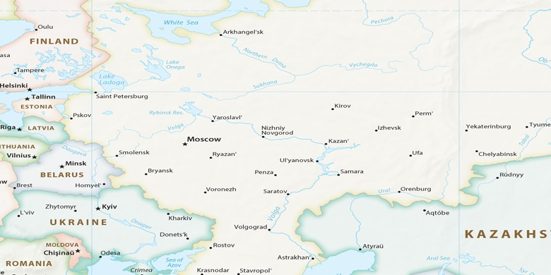 Kazan Na Mapie